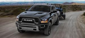 2017 Ram 1500 driving