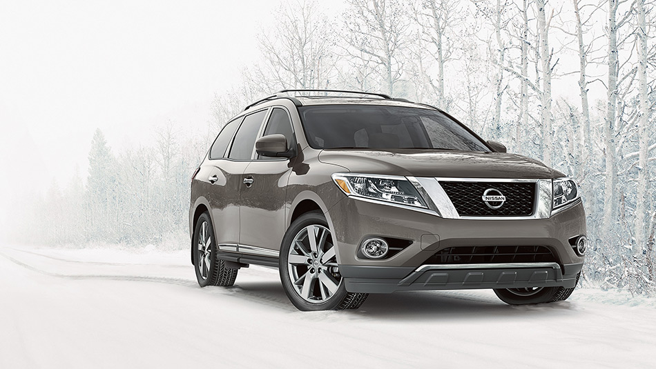 2015 Nissan Pathfinder towing