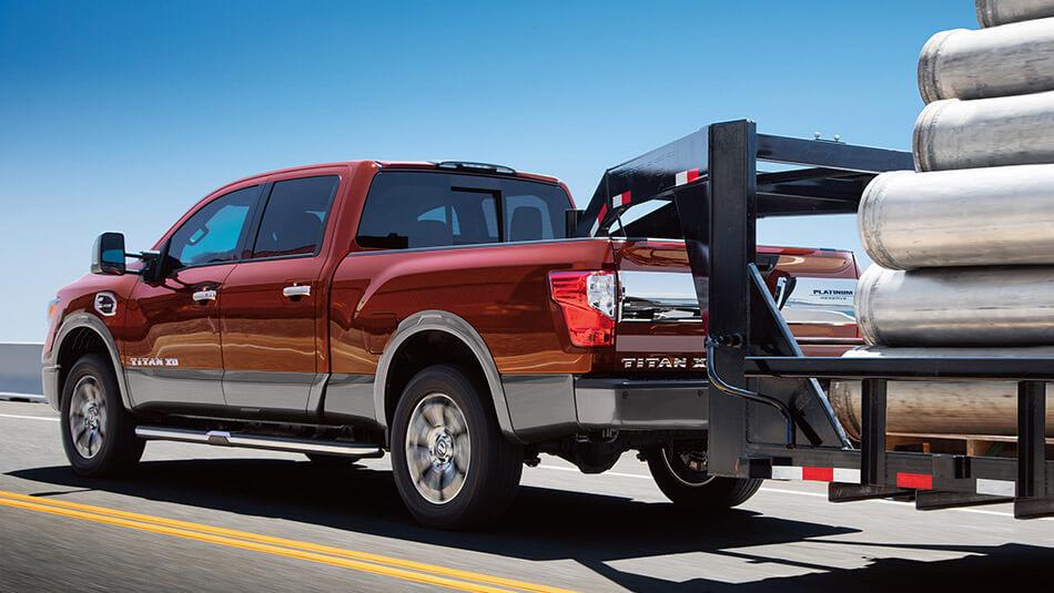 2016 Nissan Titan XD towing