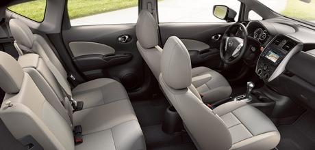 2015 Nissan Versa Note Spacious Interior