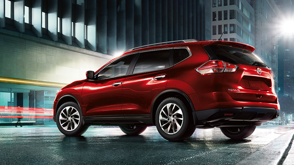 2016 Nissan Rogue Cayenne Red exterior