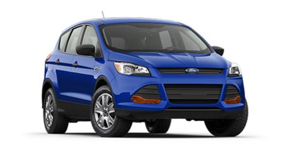 2016 Ford Escape blue exterior