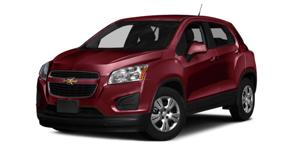 2016 Chevrolet Trax dark exterior