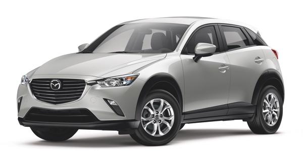 2016 Mazda CX-3 light exterior