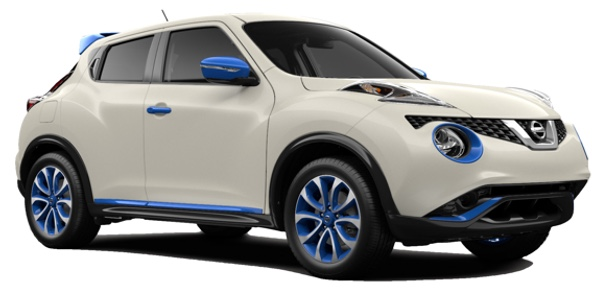 2016 Nissan Juke white exterior