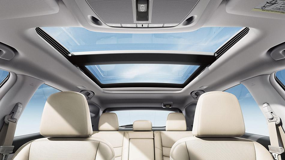 2016 Nissan Murano interior seating