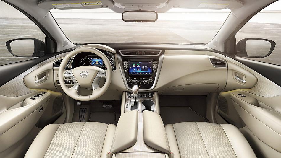 2016 Nissan Murano front interior