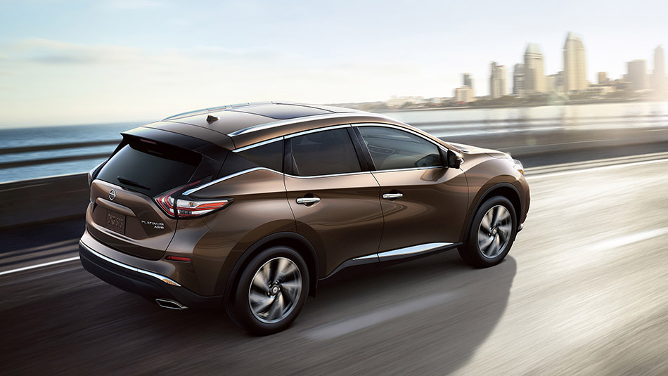 2016 Nissan Murano on the road