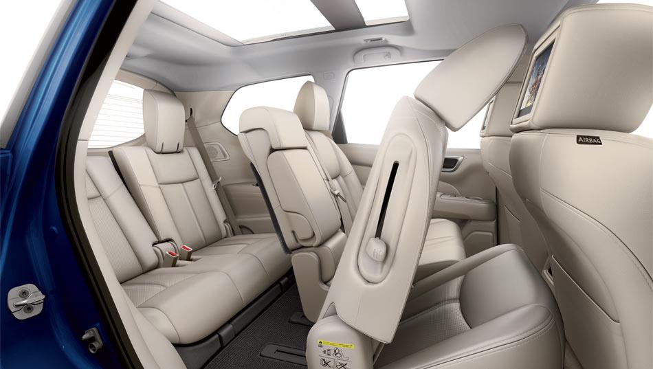 2017 Nissan Pathfinder Seats