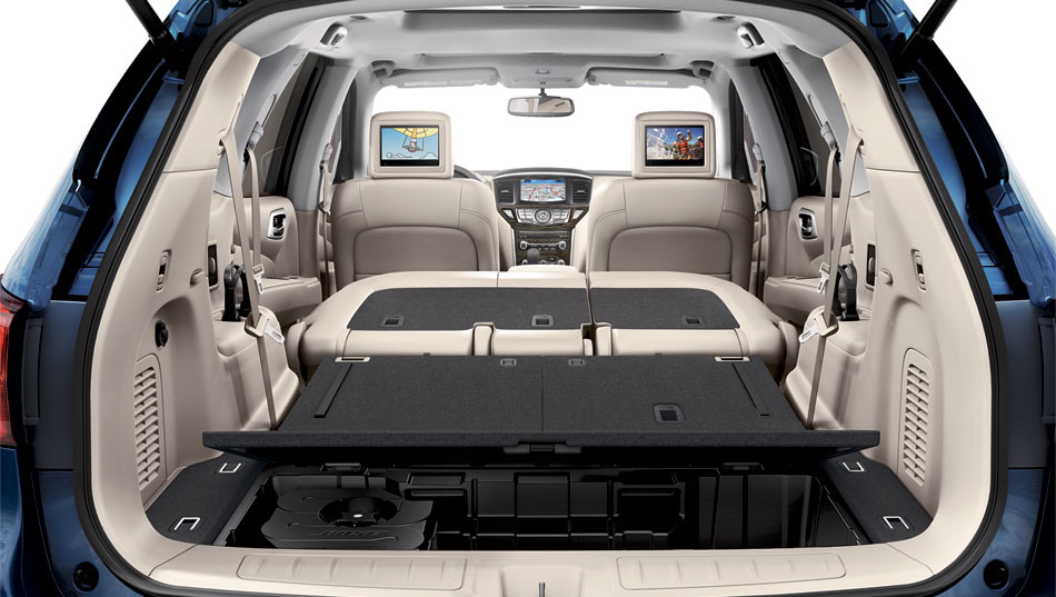 2017 Nissan Pathfinder Space