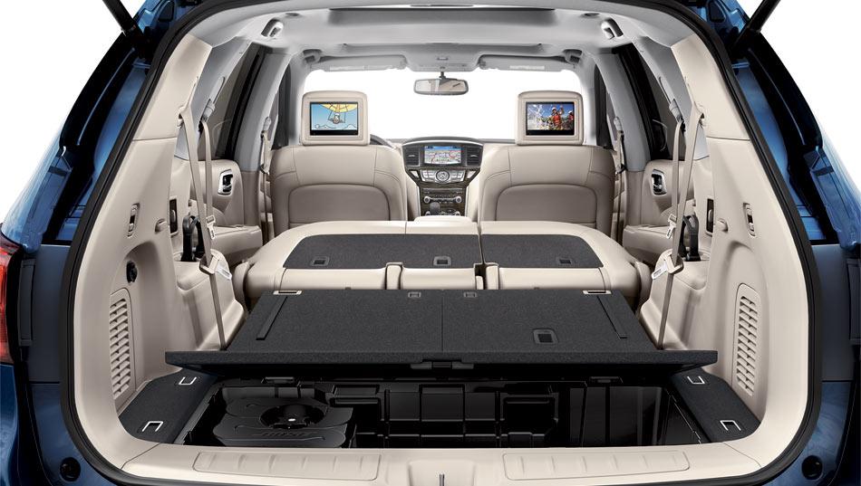 2017 Nissan Pathfinder Space