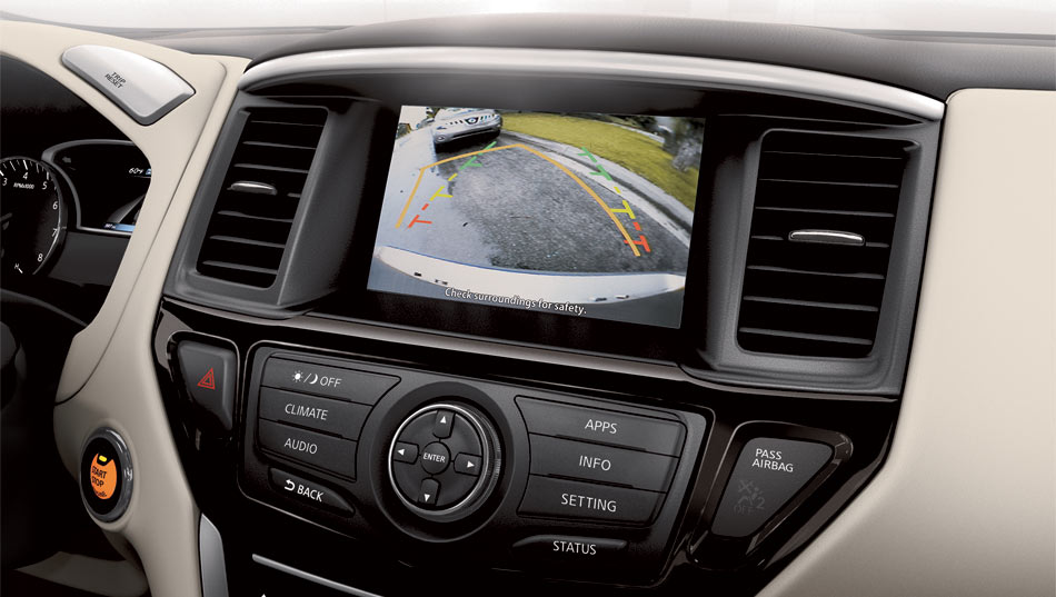 2017 Nissan Pathfinder Camera