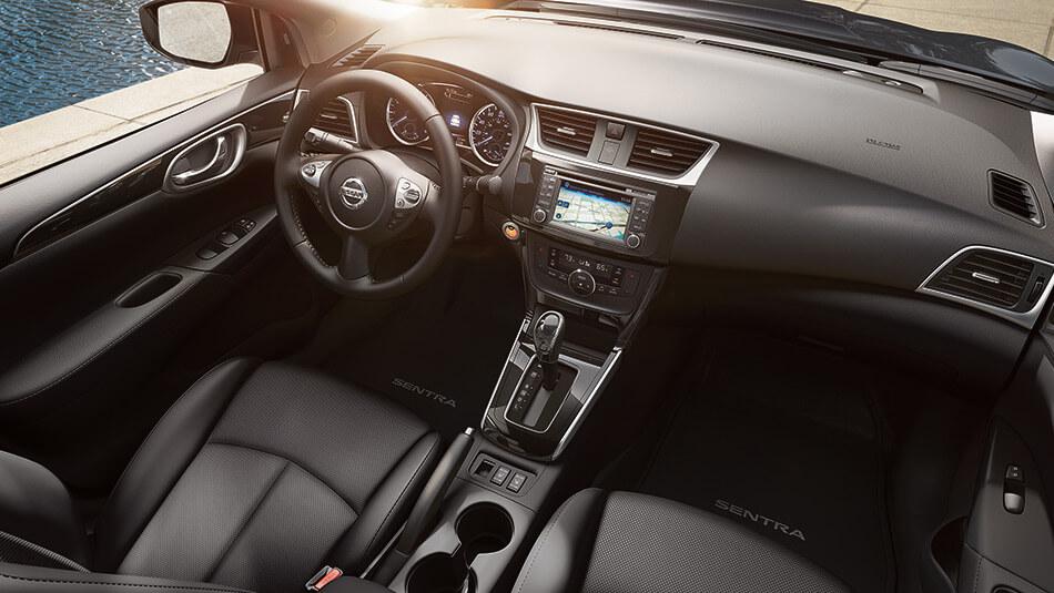 The 2016 Nissan Sentra Interior