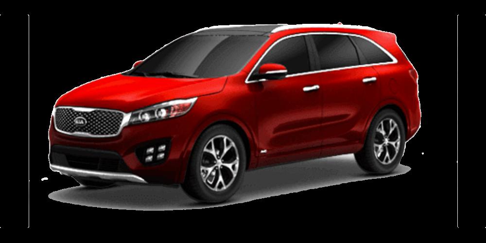 2016 Kia Sorento red exterior