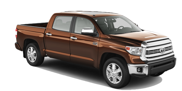 2016 Toyota Tundra model on a white background