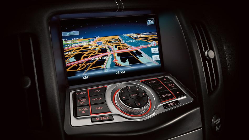 2017 Nissan 370Z screen