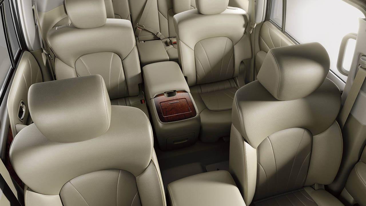 2017 Nissan Armada seats