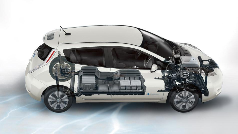 2016 Nissan Leaf See thru