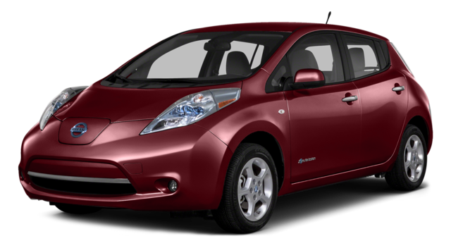 2016 Nissan Leaf Red