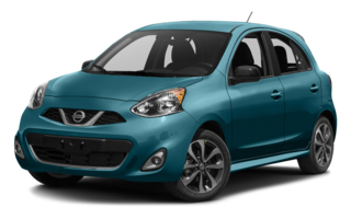 2016 Nissan Micra Teal