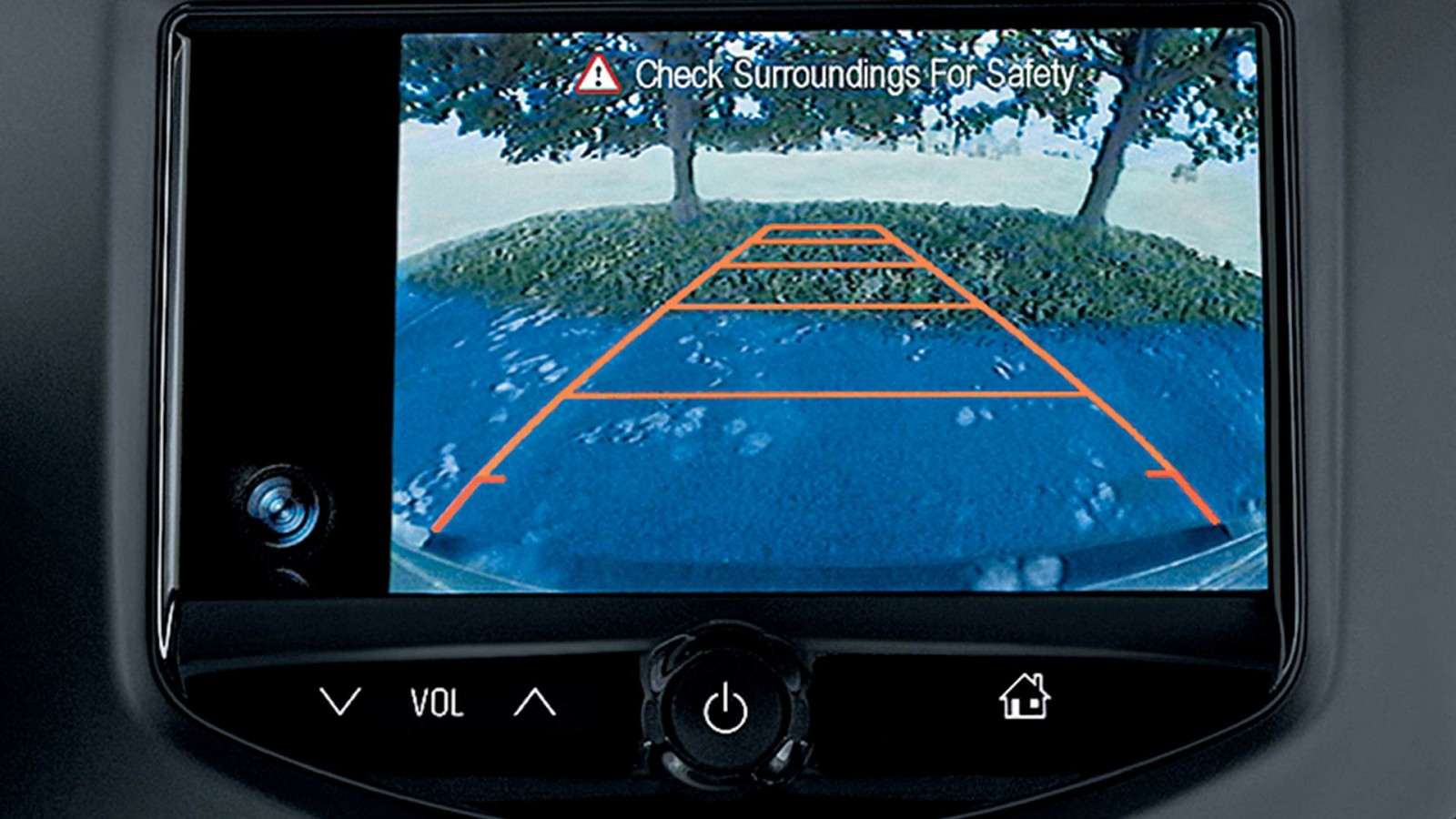 2016 Chevy Trax Rear Cam