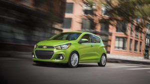 2016 Lime green Chevy Spark