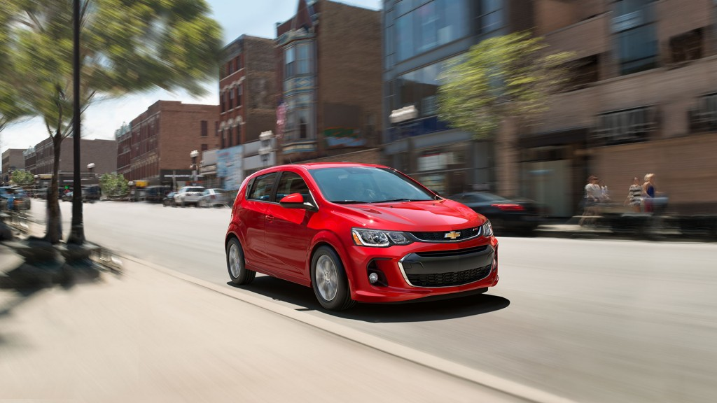 2017 Chevy Sonic Red