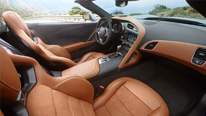 2017 Chevrolet Corvette Stingray interior