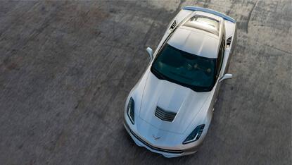 2017 Chevrolet Corvette Stingray power