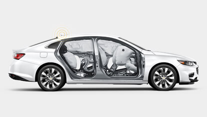 2017 Chevrolet Malibu Safety
