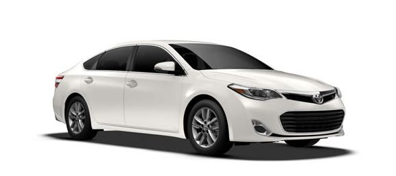 Avalon - One of the top 10 Family Cars in 2013 - Kelly Blue Book