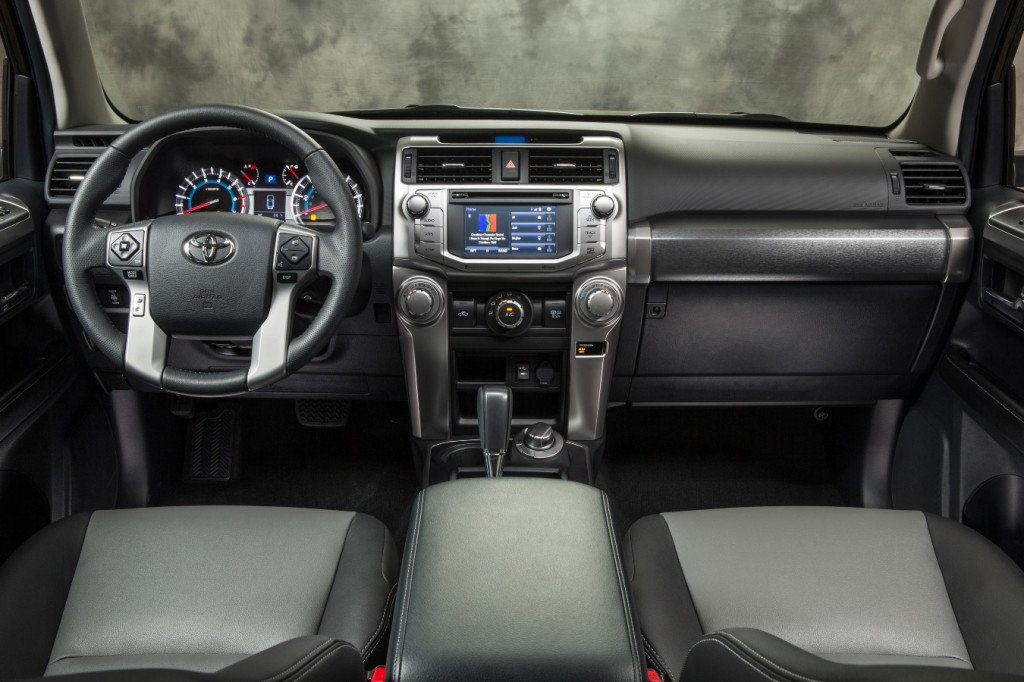 2014 4runner dashboard