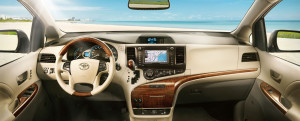 2014 Toyota Sienna Dashboard