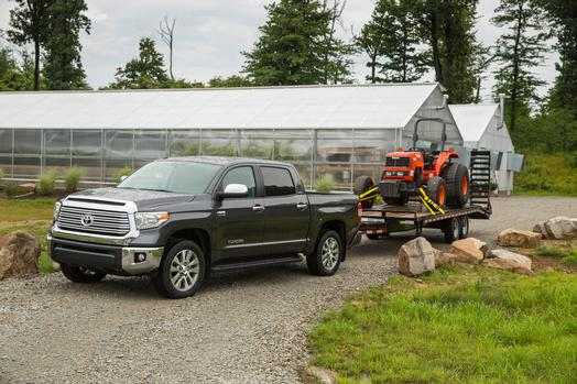 The Tundra Can Haul Tractors And Awards