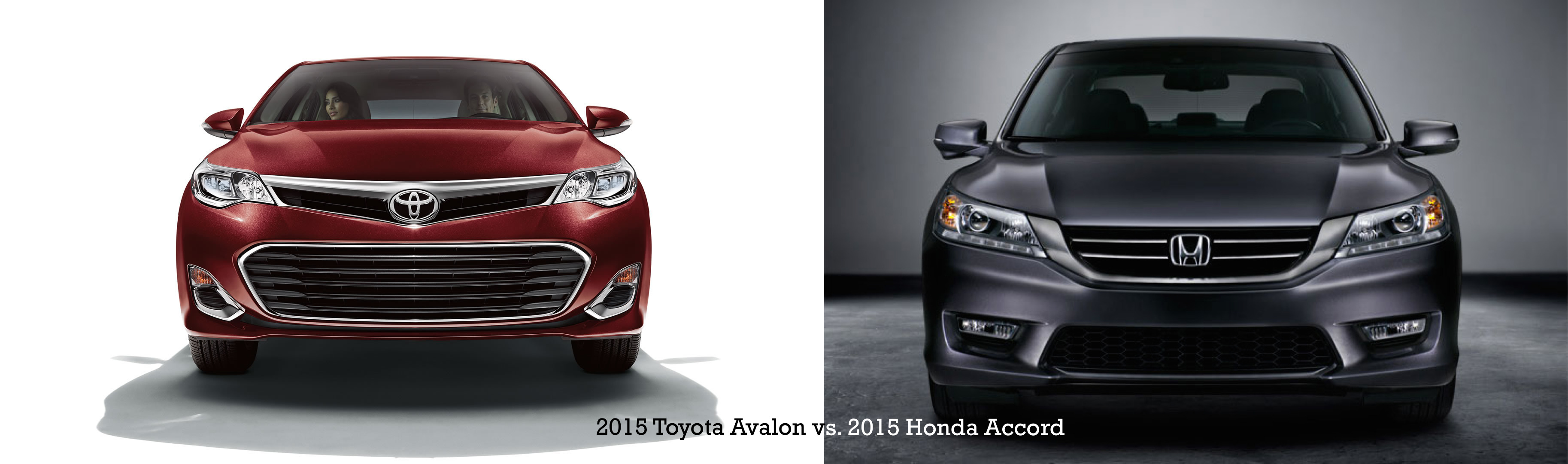 2015 Toyota Avalon vs. 2015 Honda Accord