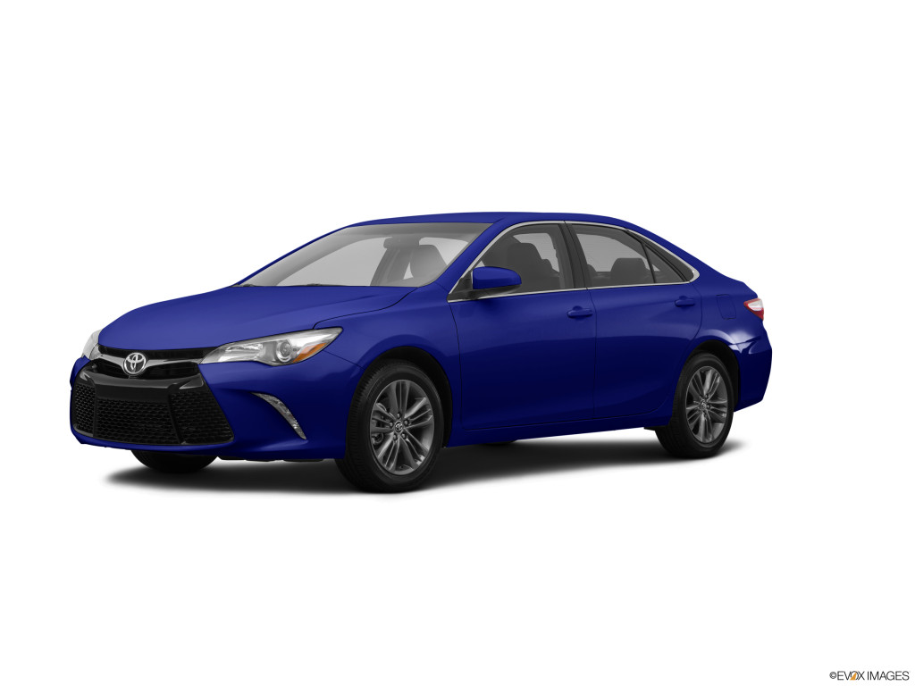 2015 Toyota Camry Blue Crush Metallic