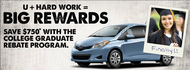 Limbaugh Toyota College Graduate Program
