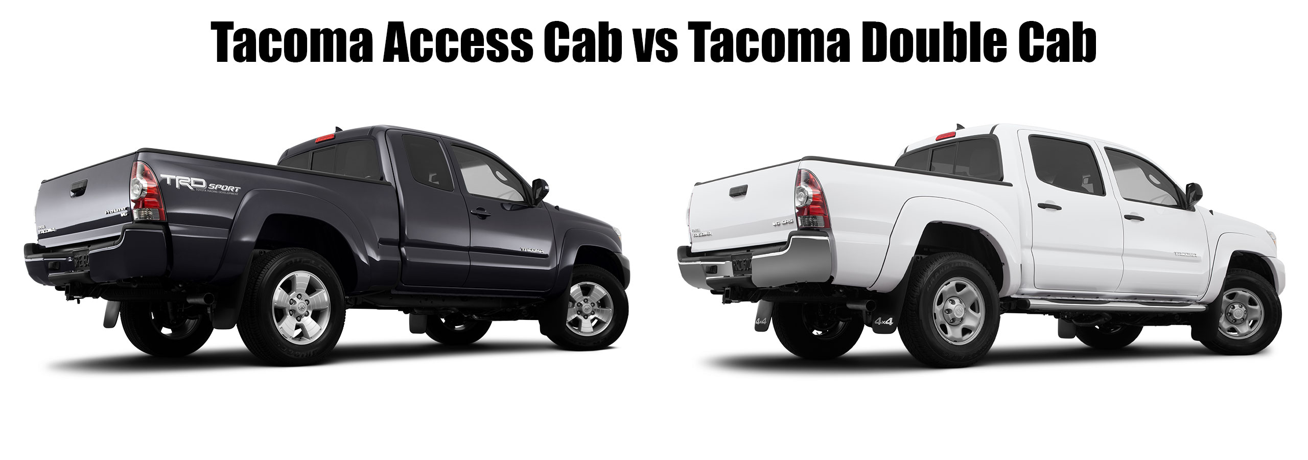What's The Difference Between A Ta a Access and Double Cab
