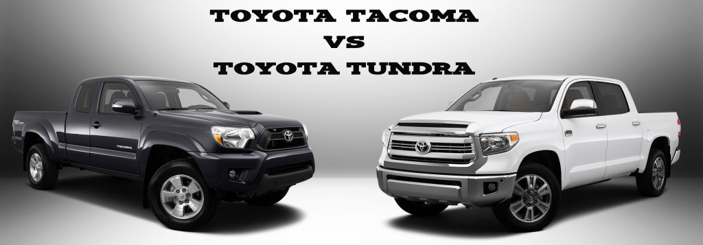 Toyota Tacoma Vs Tundra: MPG, Size, Towing Capacity And More