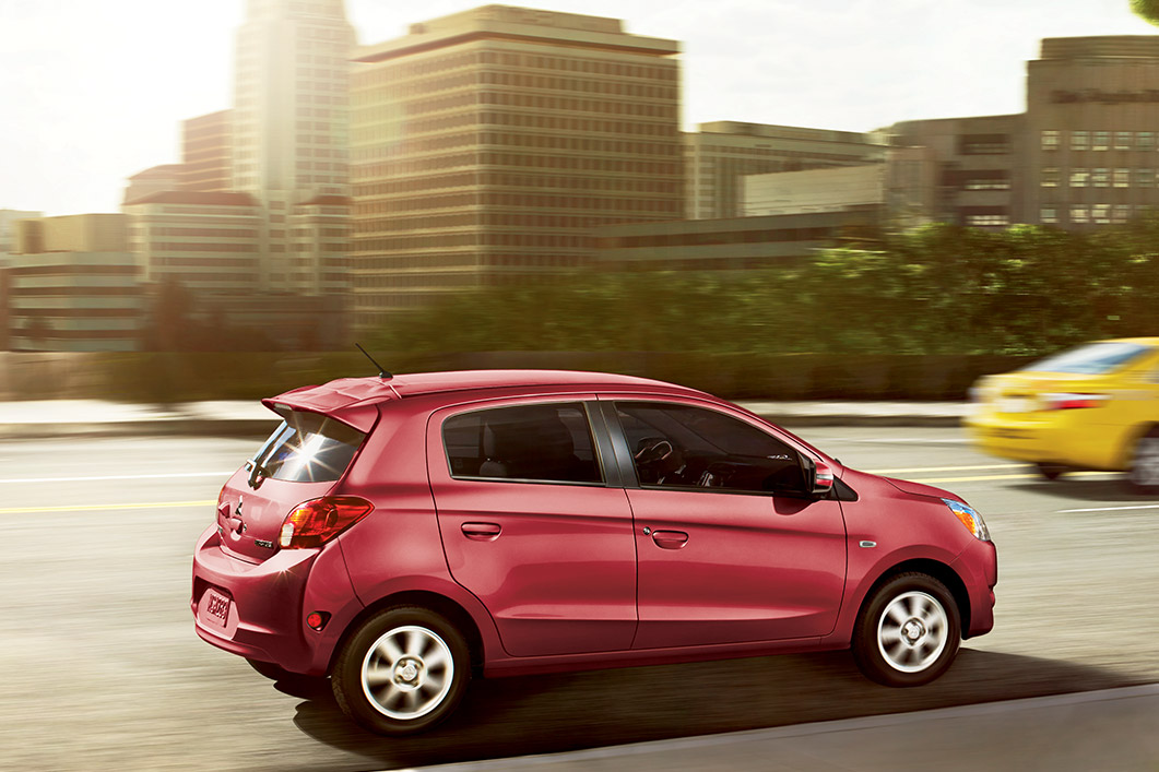 2015 Mitsubishi Mirage Vs 2014 Chevy Spark Fuel Economy