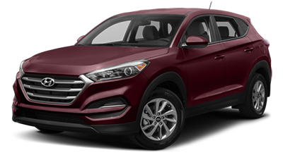 2017 Hyundai Tucson Red