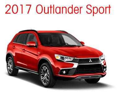 2017 Outlander Sport Model Page
