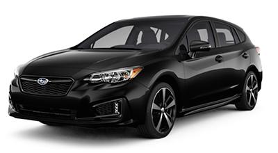 2017 Subaru Impreza Black