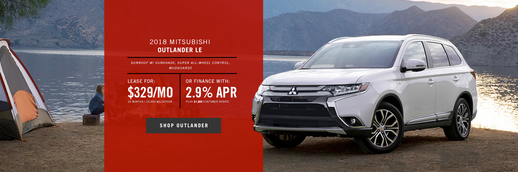 Mitsubishi Outlander Special Offer