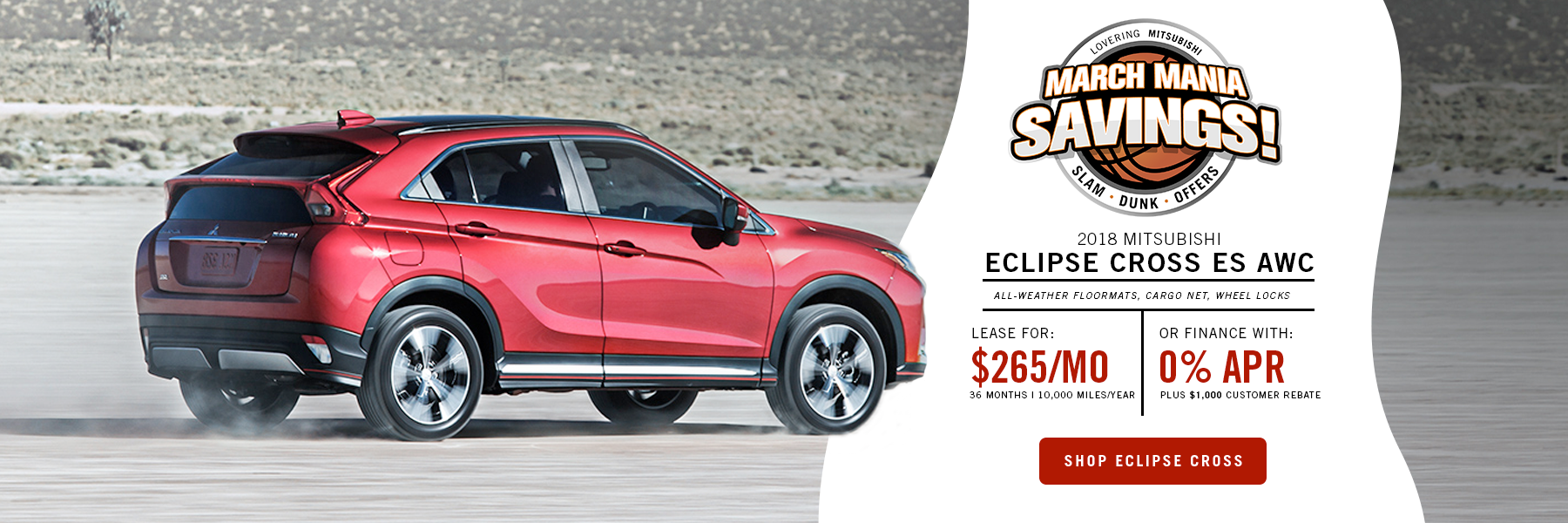 Eclipse Cross Special Offer Concord, NH