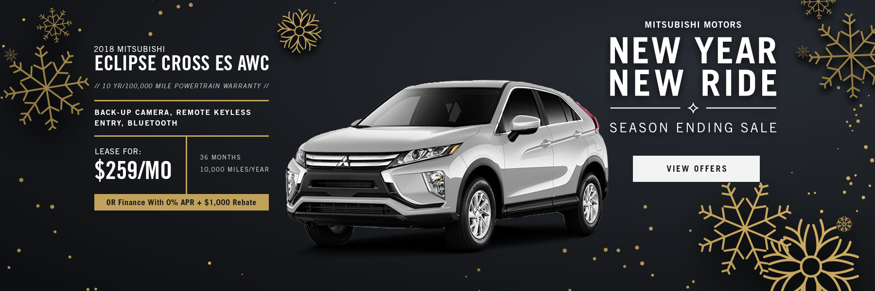 Mitsubishi Eclipse Cross Special Offer Concord, NH