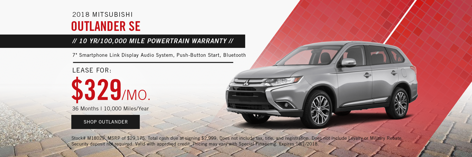 Mitsubishi Outlander Special Offer Concord, NH