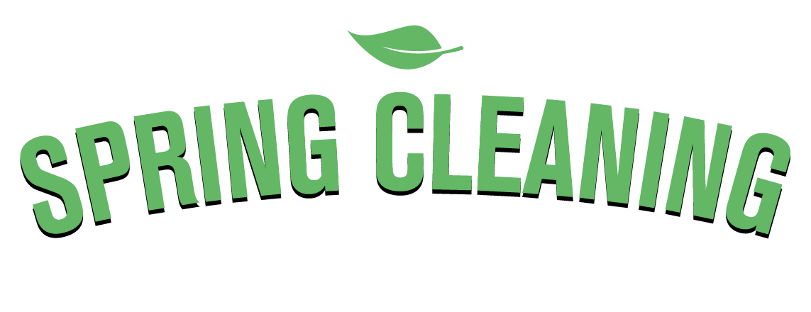 Spring Cleaning - Sales Event