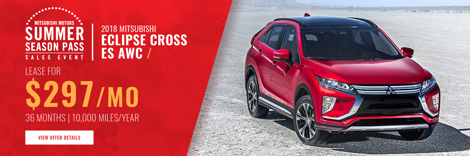 Mitsubishi Eclipse Cross Lease Offer Concord NH