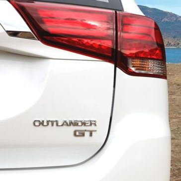 Exterior Back Badge of 2018 Mitsubishi Outlander GT